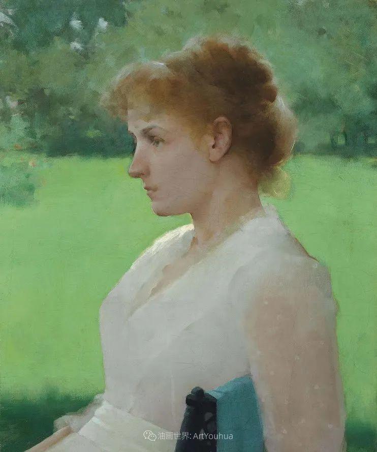 专注于捕捉光线,美国画家弗兰克·韦斯顿·本森插图123