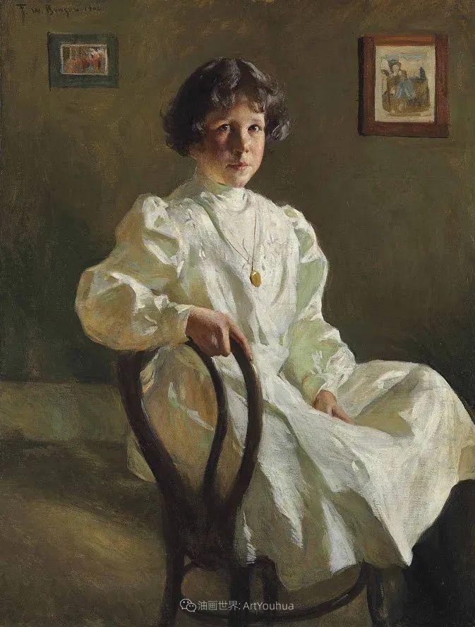 专注于捕捉光线,美国画家弗兰克·韦斯顿·本森插图125