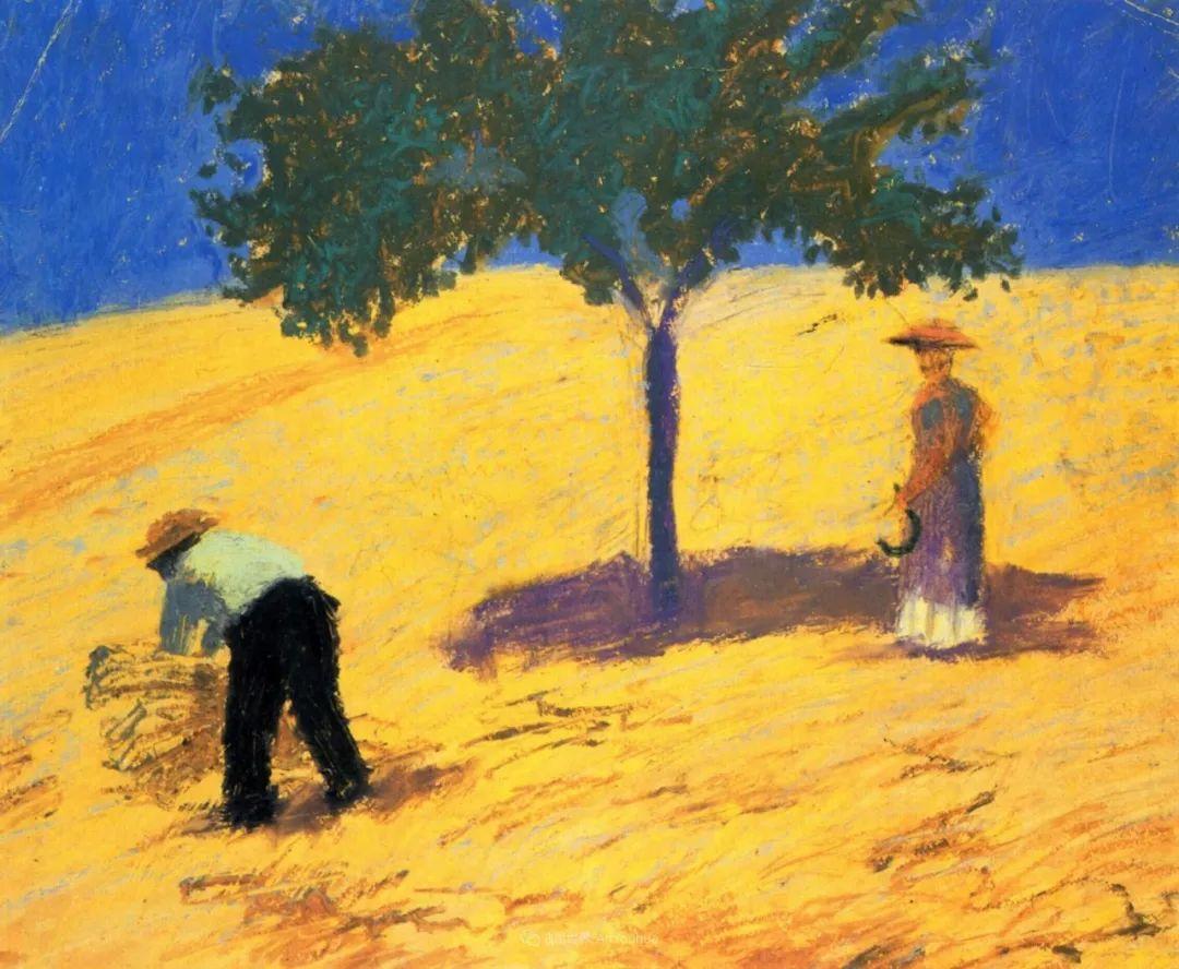 画面色彩的力量,德国表现主义画家奥古斯特·马克插图1