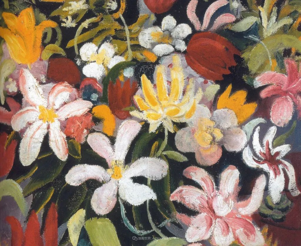 画面色彩的力量,德国表现主义画家奥古斯特·马克插图13