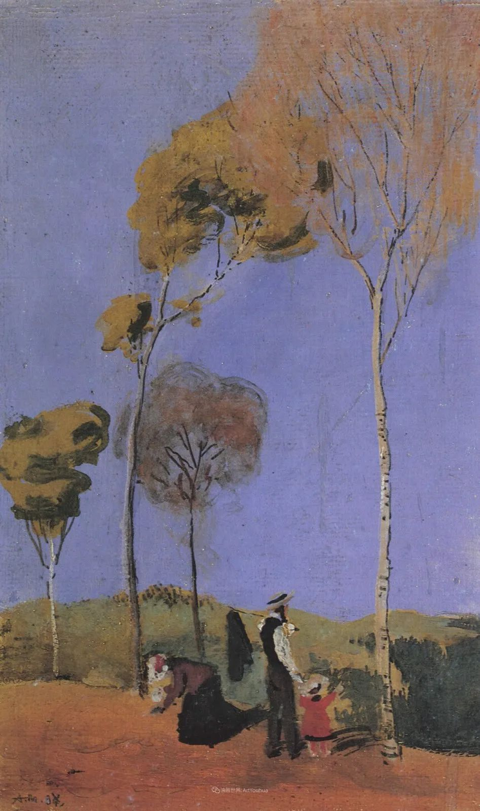 画面色彩的力量,德国表现主义画家奥古斯特·马克插图71