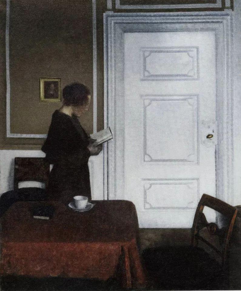 他以富有诗意,柔和的肖像和内饰而闻名插图19