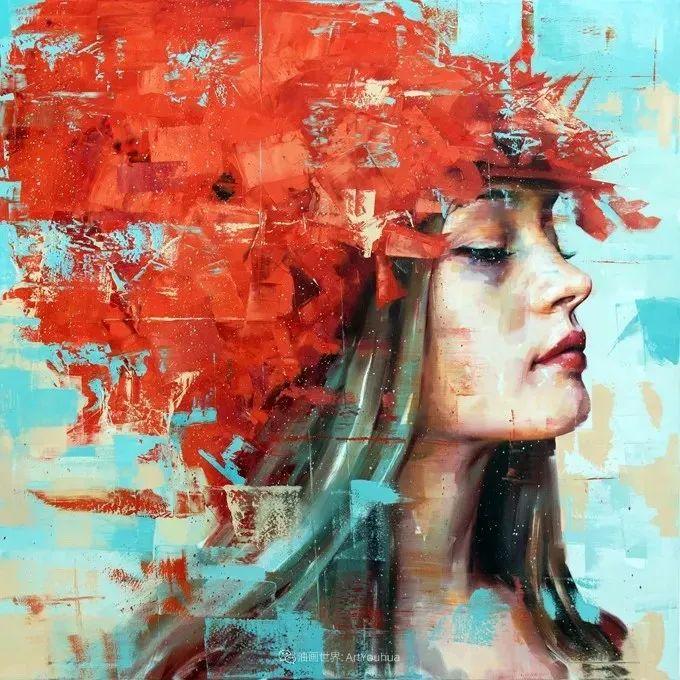 通过肖像探索孤独的概念,大型肖像画!插图2