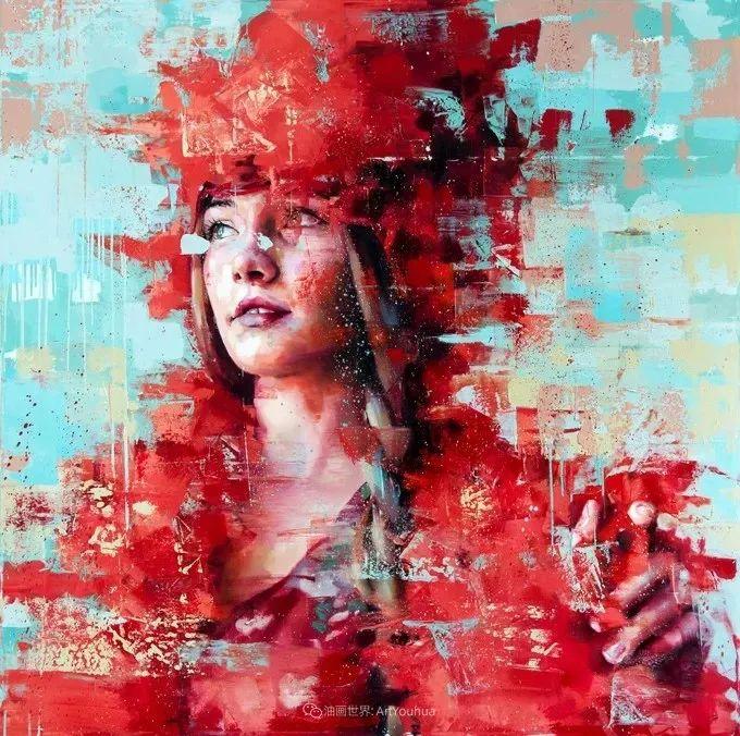 通过肖像探索孤独的概念,大型肖像画!插图10