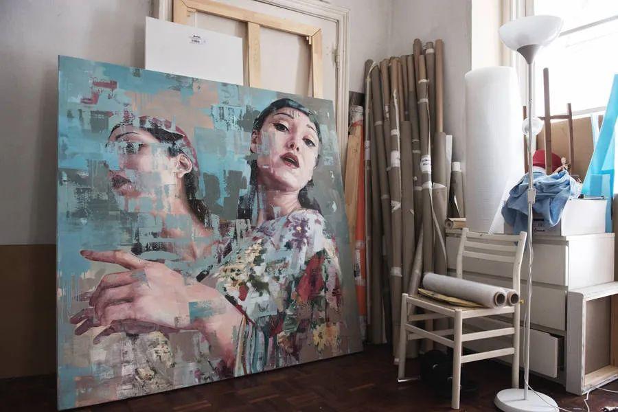 通过肖像探索孤独的概念,大型肖像画!插图13