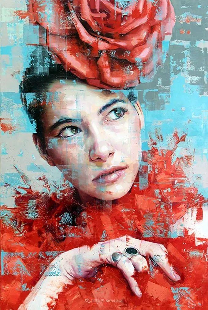 通过肖像探索孤独的概念,大型肖像画!插图20