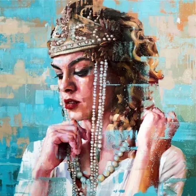 通过肖像探索孤独的概念,大型肖像画!插图27