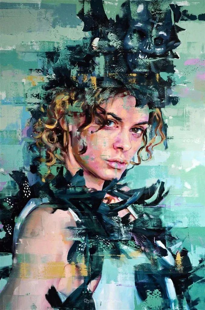 通过肖像探索孤独的概念,大型肖像画!插图36