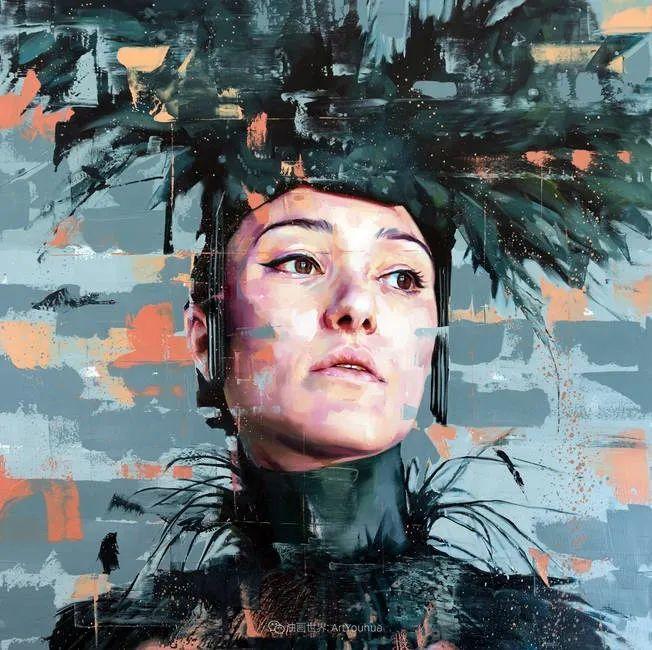 通过肖像探索孤独的概念,大型肖像画!插图37
