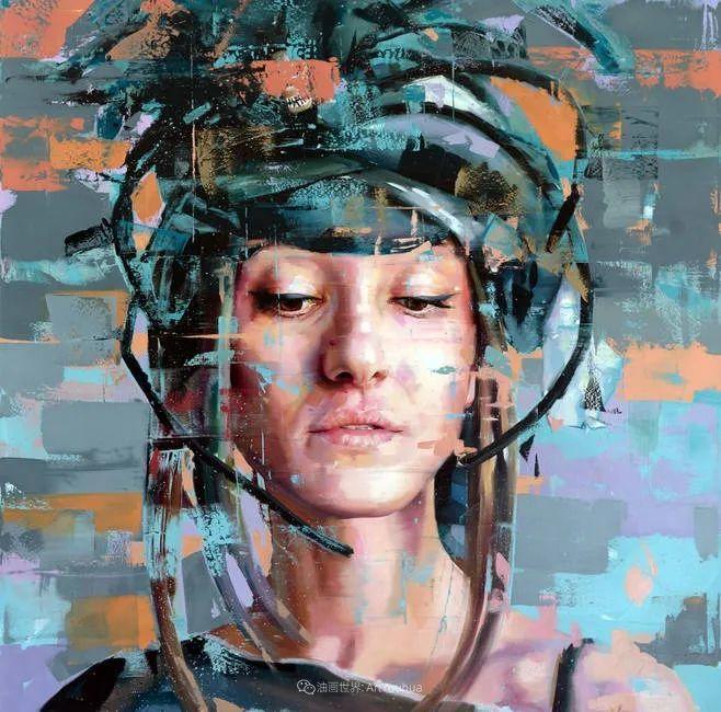 通过肖像探索孤独的概念,大型肖像画!插图40