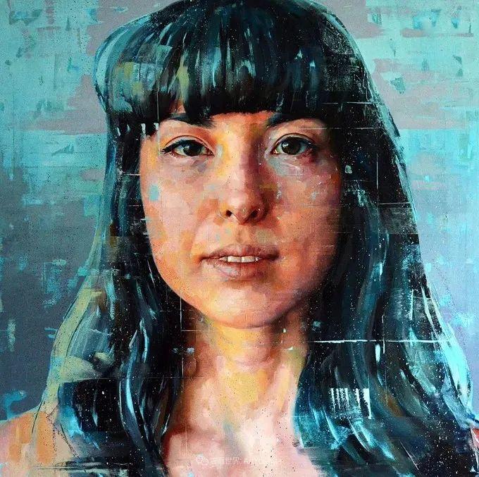 通过肖像探索孤独的概念,大型肖像画!插图42