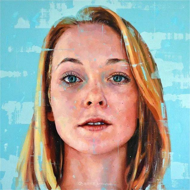通过肖像探索孤独的概念,大型肖像画!插图43