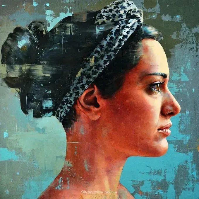 通过肖像探索孤独的概念,大型肖像画!插图44