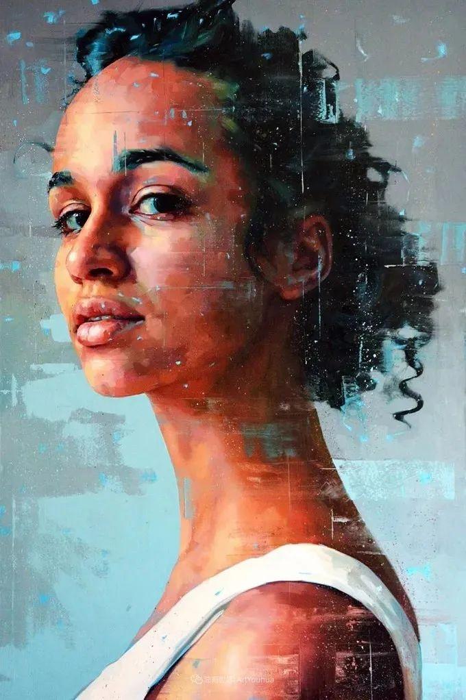 通过肖像探索孤独的概念,大型肖像画!插图47