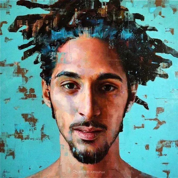 通过肖像探索孤独的概念,大型肖像画!插图48