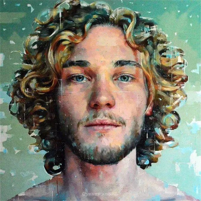 通过肖像探索孤独的概念,大型肖像画!插图50