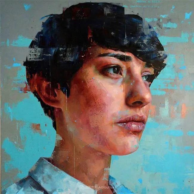 通过肖像探索孤独的概念,大型肖像画!插图52