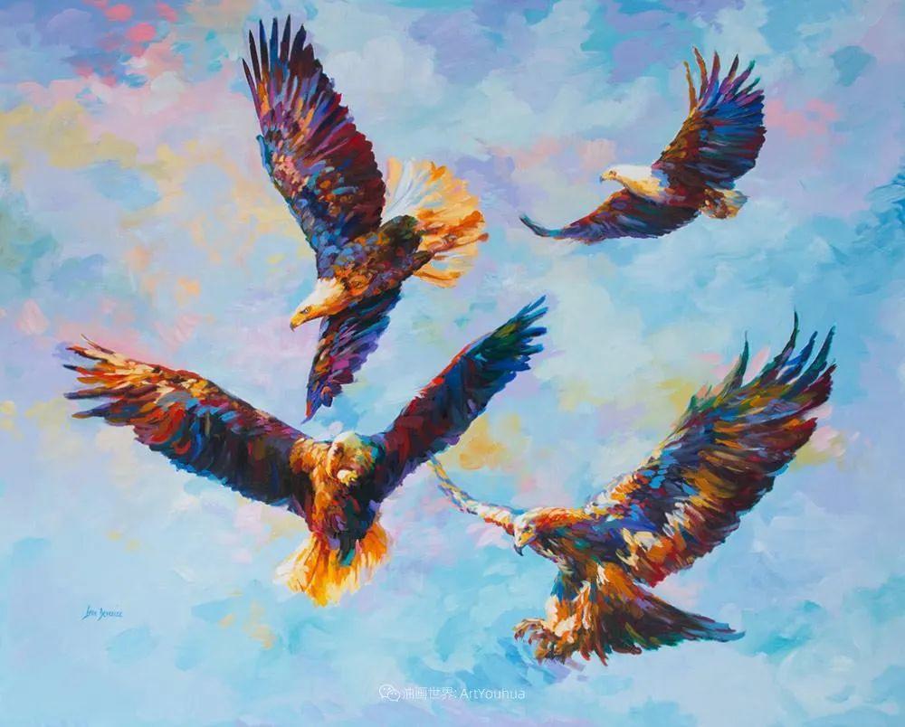 艳丽多彩的人物、动物和静物,利昂·德文尼采作品三插图45