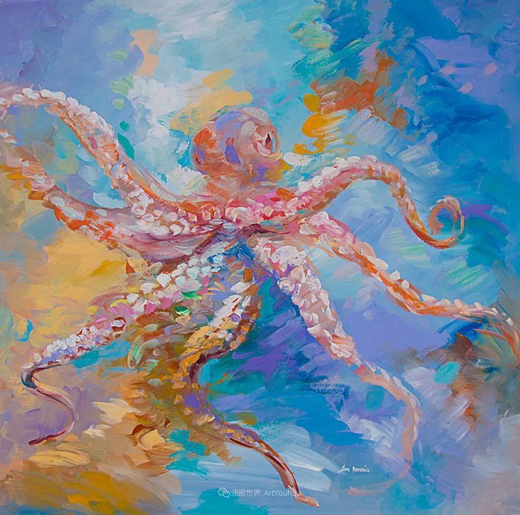 艳丽多彩的人物、动物和静物,利昂·德文尼采作品三插图47