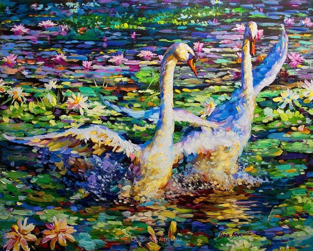 艳丽多彩的人物、动物和静物,利昂·德文尼采作品三插图49