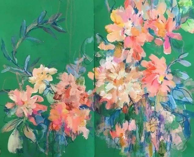 藏在画本里精美的花儿们,好美!插图15