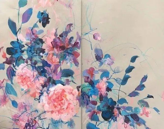 藏在画本里精美的花儿们,好美!插图19