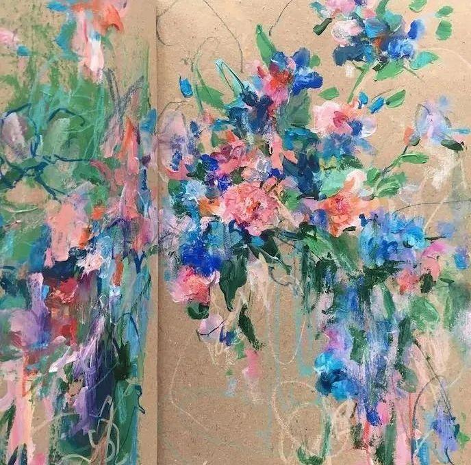 藏在画本里精美的花儿们,好美!插图21
