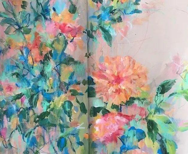藏在画本里精美的花儿们,好美!插图23