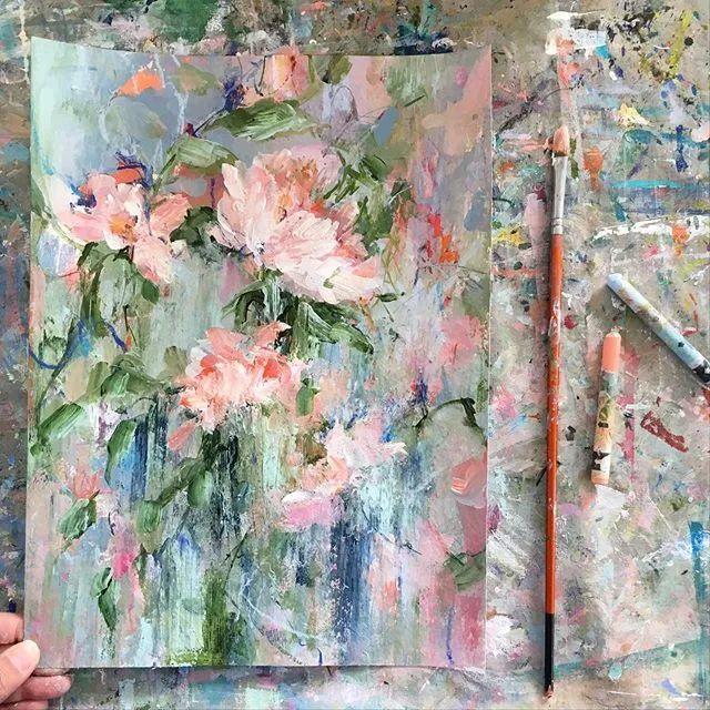 藏在画本里精美的花儿们,好美!插图47