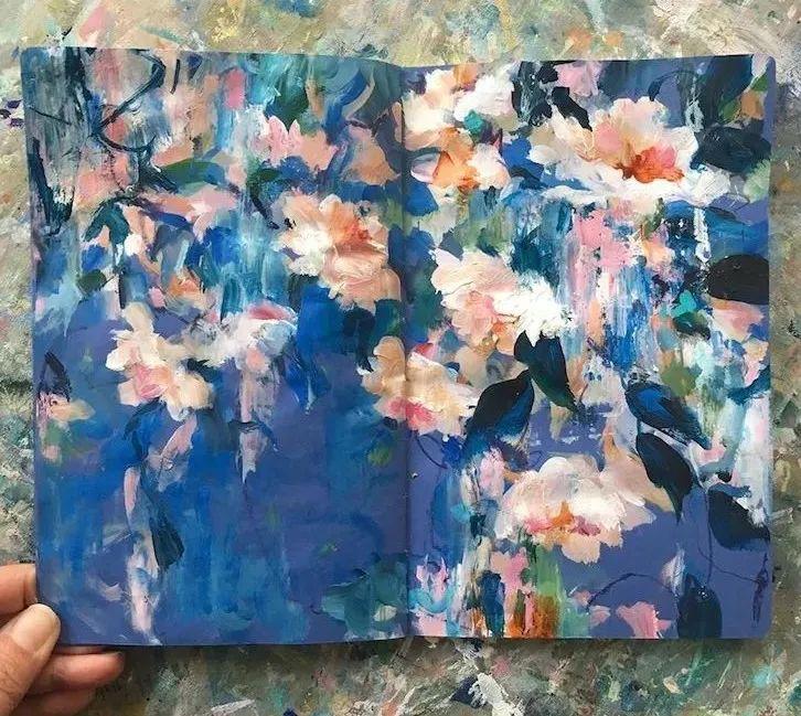 藏在画本里精美的花儿们,好美!插图51