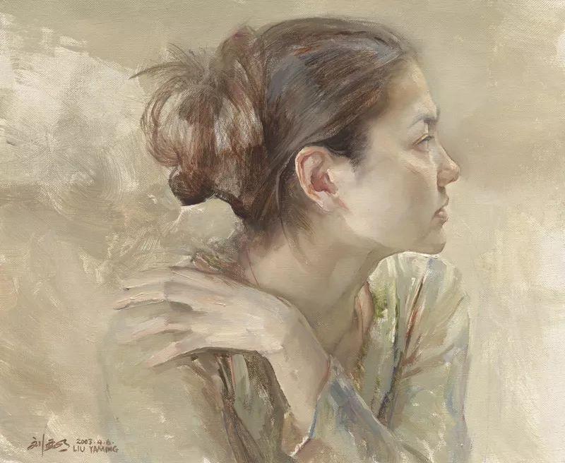 巨幅油画《苍穹之眼》创作过程,看完视频只有两个字:震撼!插图37