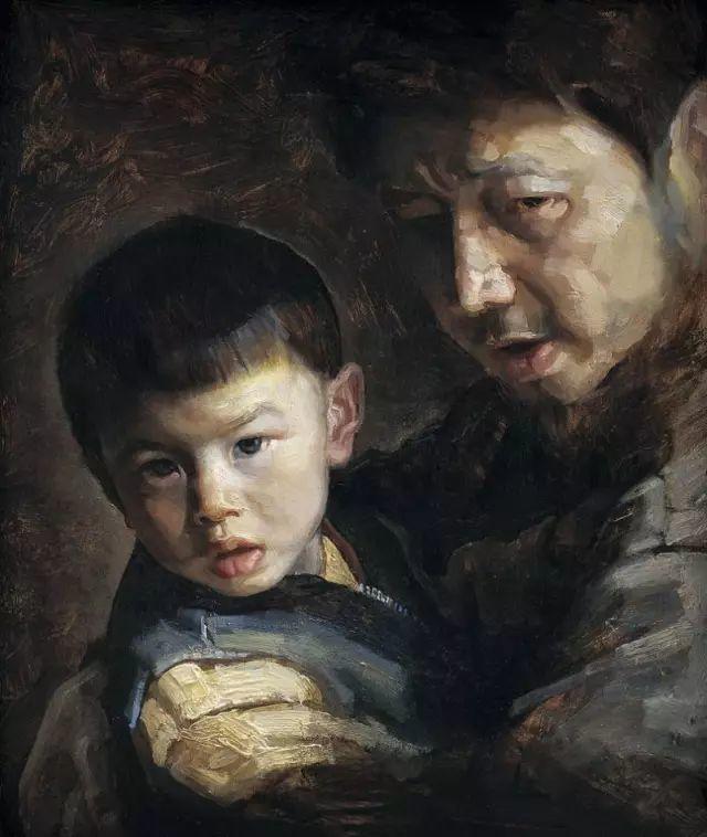 巨幅油画《苍穹之眼》创作过程,看完视频只有两个字:震撼!插图45