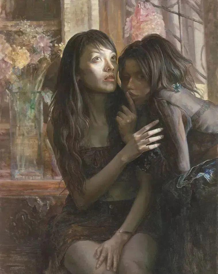巨幅油画《苍穹之眼》创作过程,看完视频只有两个字:震撼!插图61