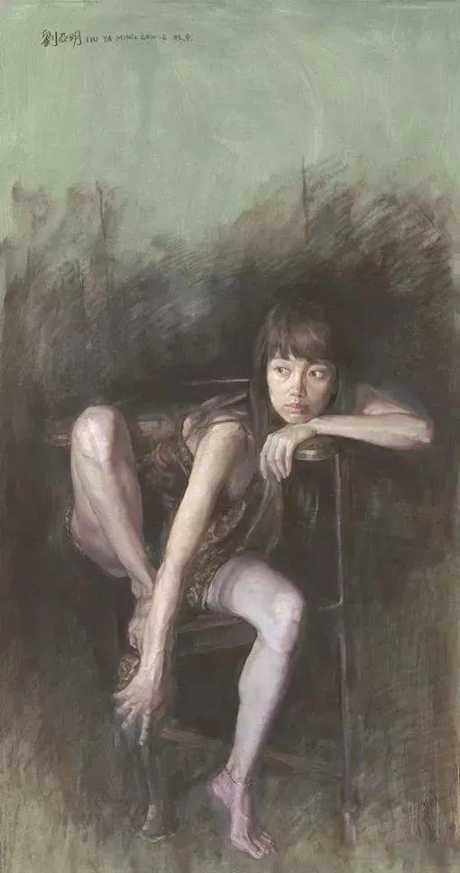 巨幅油画《苍穹之眼》创作过程,看完视频只有两个字:震撼!插图67
