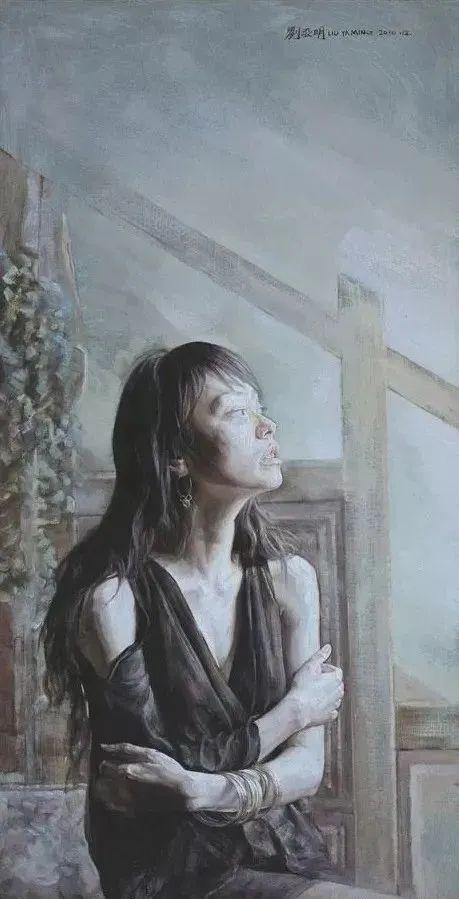 巨幅油画《苍穹之眼》创作过程,看完视频只有两个字:震撼!插图69