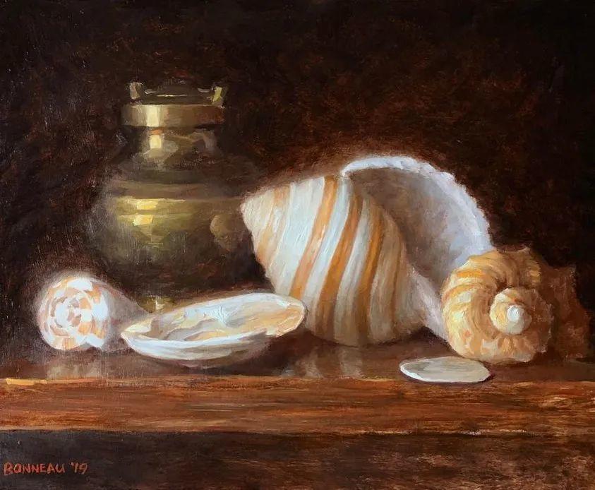 光线的微妙,澳大利亚画家安德鲁·波纳乌插图12