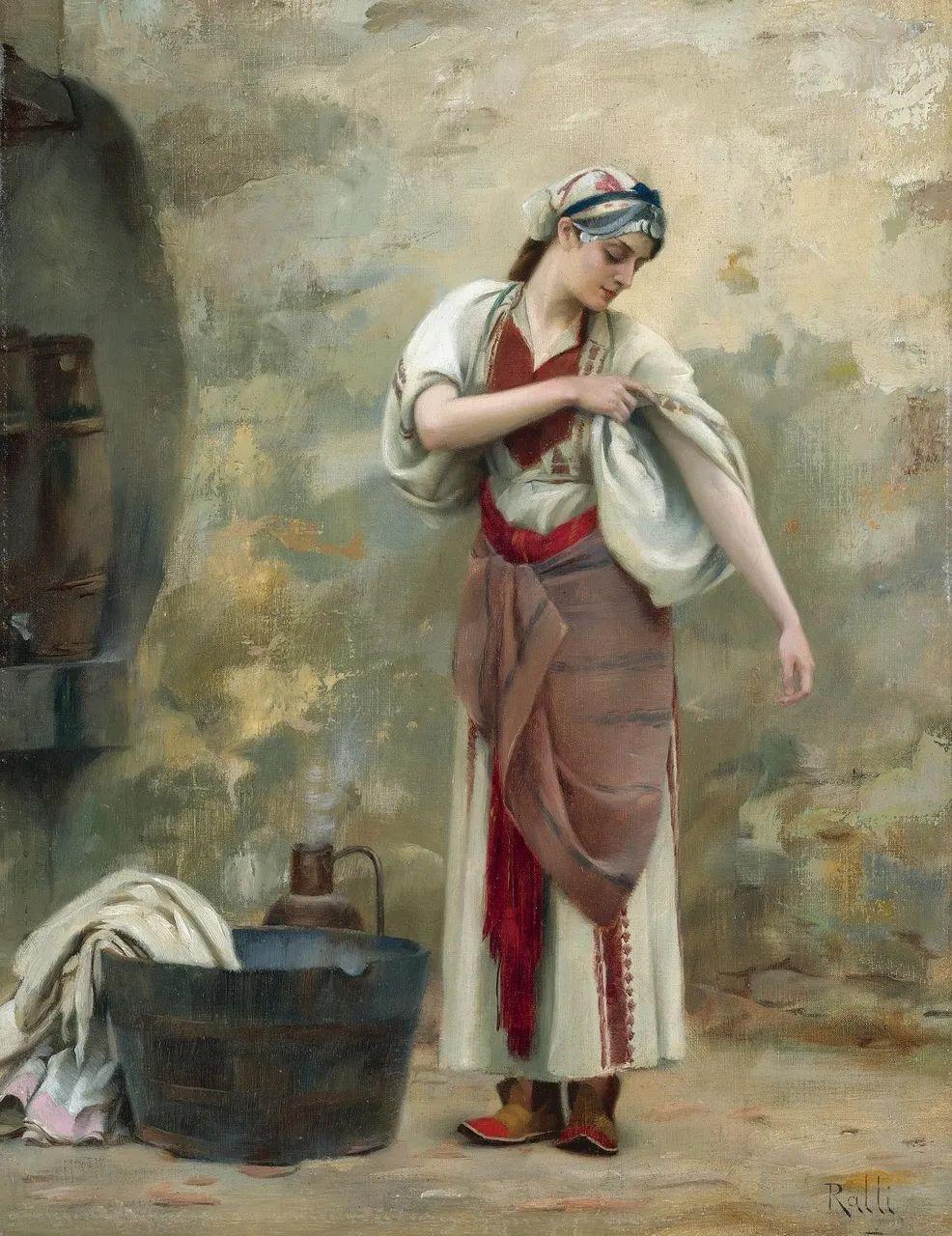 微妙而动人的绘画,希腊画家蒂奥多·拉利插图1