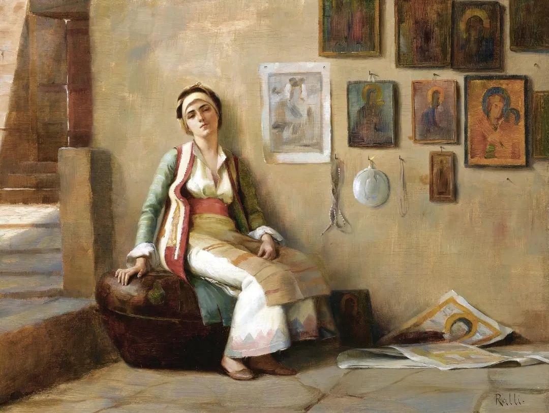 微妙而动人的绘画,希腊画家蒂奥多·拉利插图3