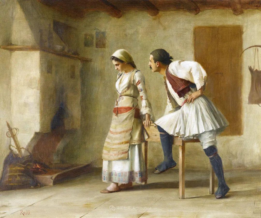 微妙而动人的绘画,希腊画家蒂奥多·拉利插图7