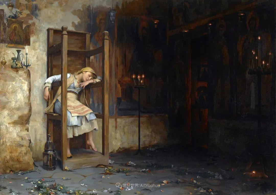 微妙而动人的绘画,希腊画家蒂奥多·拉利插图17