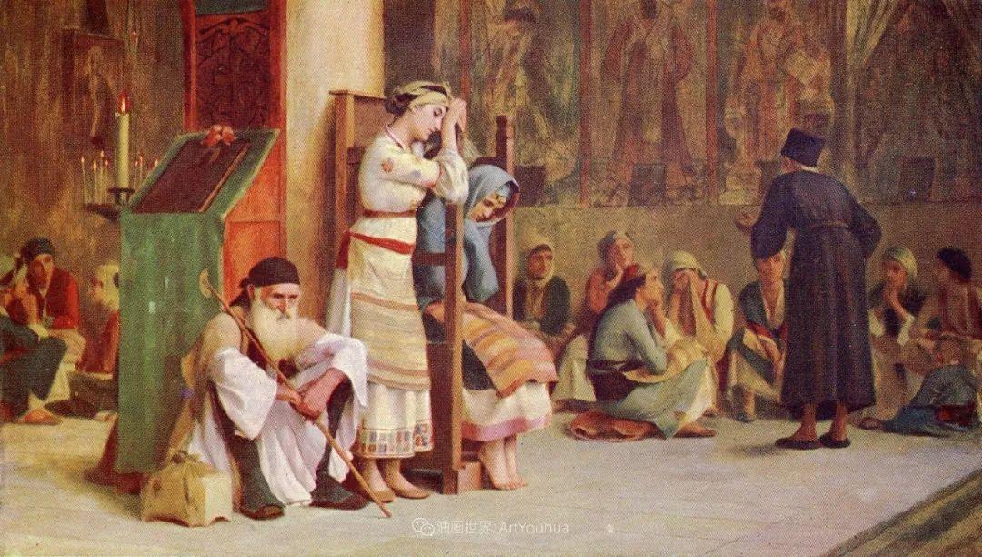 微妙而动人的绘画,希腊画家蒂奥多·拉利插图19