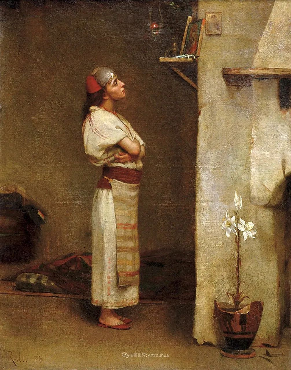微妙而动人的绘画,希腊画家蒂奥多·拉利插图25