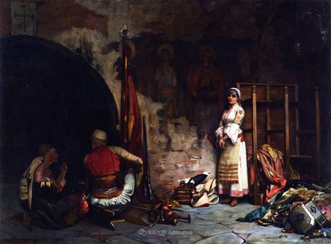 微妙而动人的绘画,希腊画家蒂奥多·拉利插图33