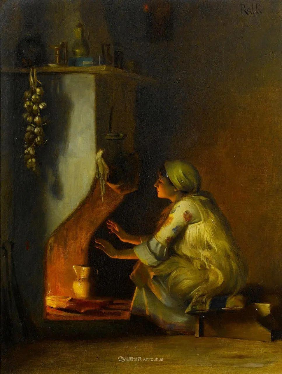 微妙而动人的绘画,希腊画家蒂奥多·拉利插图37