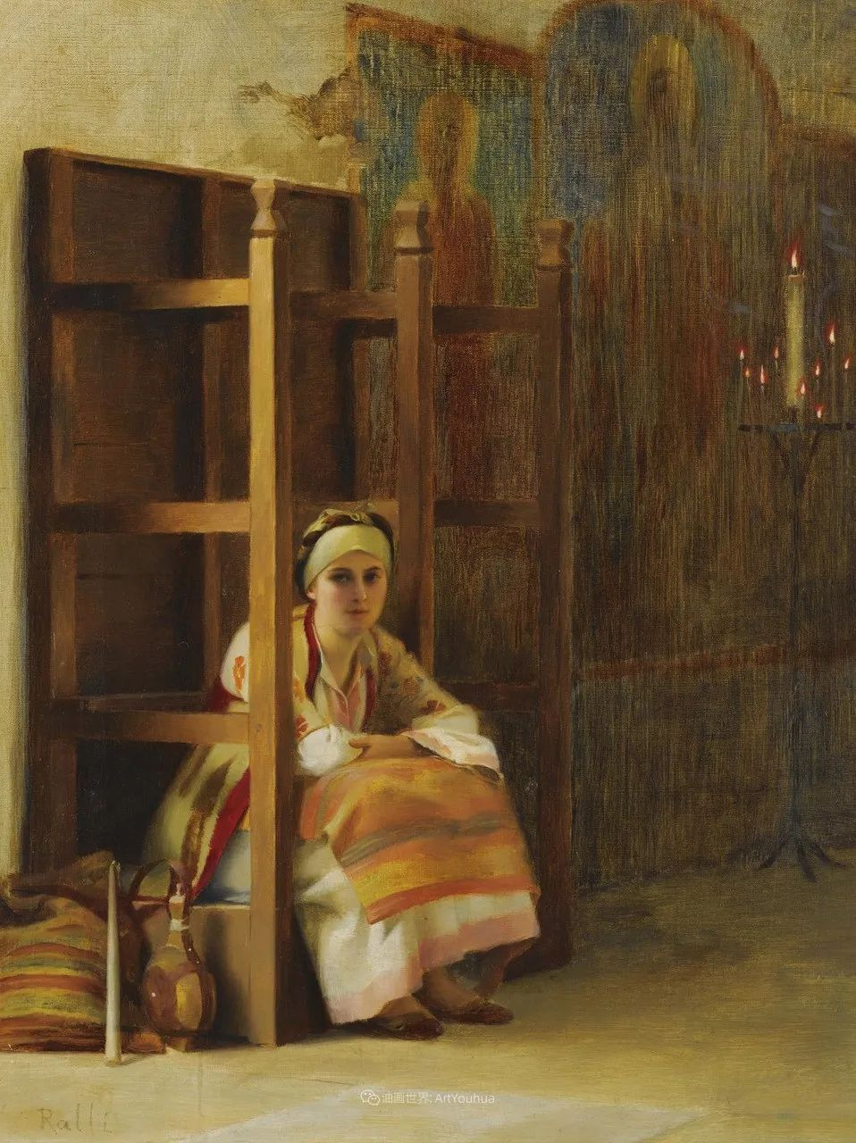 微妙而动人的绘画,希腊画家蒂奥多·拉利插图39