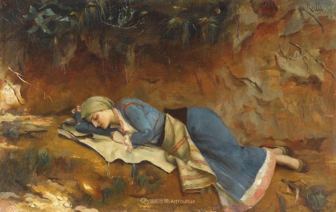 微妙而动人的绘画,希腊画家蒂奥多·拉利插图51
