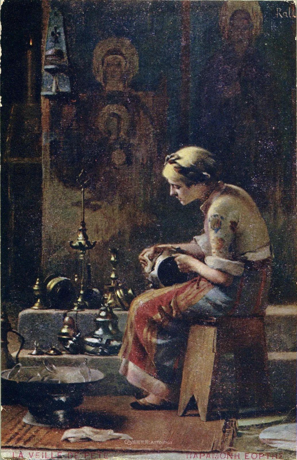 微妙而动人的绘画,希腊画家蒂奥多·拉利插图57