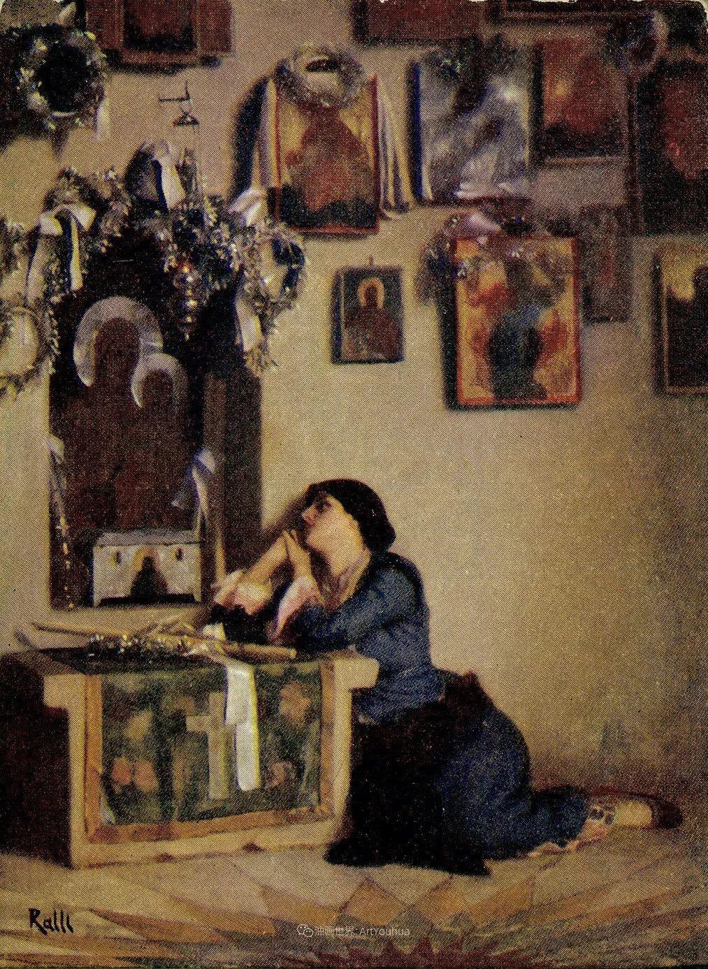 微妙而动人的绘画,希腊画家蒂奥多·拉利插图61