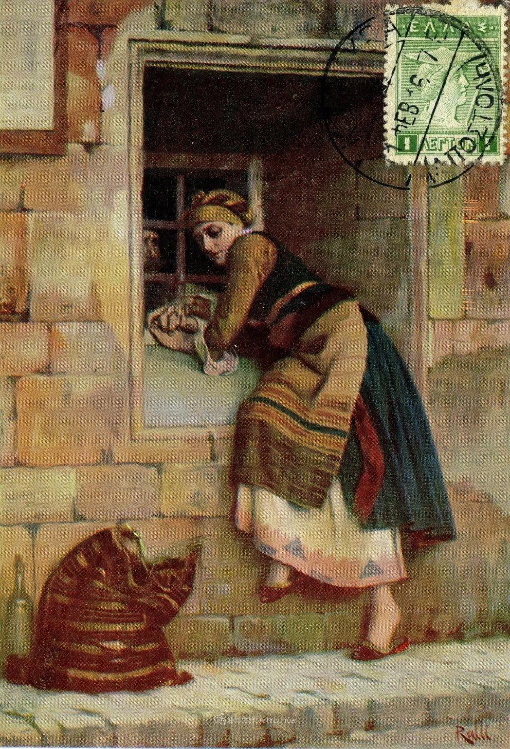 微妙而动人的绘画,希腊画家蒂奥多·拉利插图63