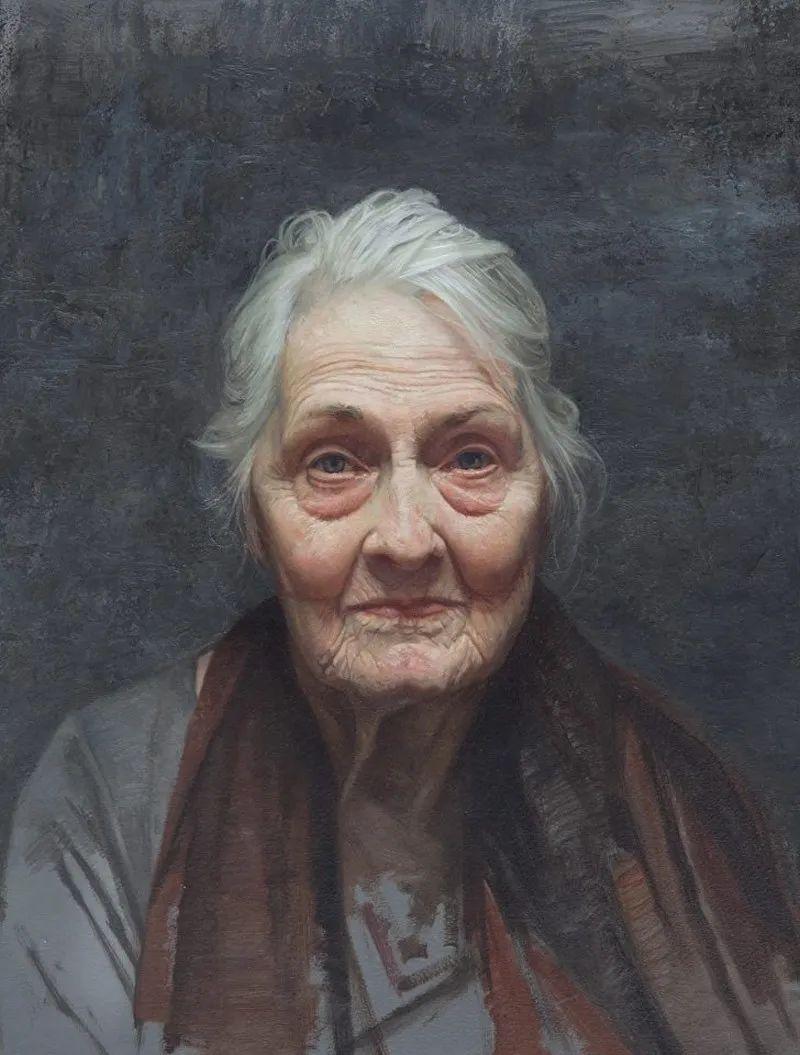 从美学上捕捉人们的真实形态,美国画家戴维·卡桑插图